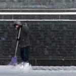 Снежная зима увеличила спрос на дворников в Петербурге